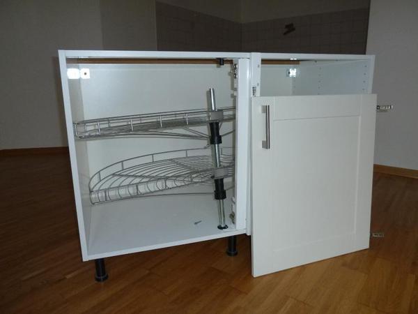 s ikea eckschrank mit karussell - boisholz - Ikea Küche Eckschrank Karussell