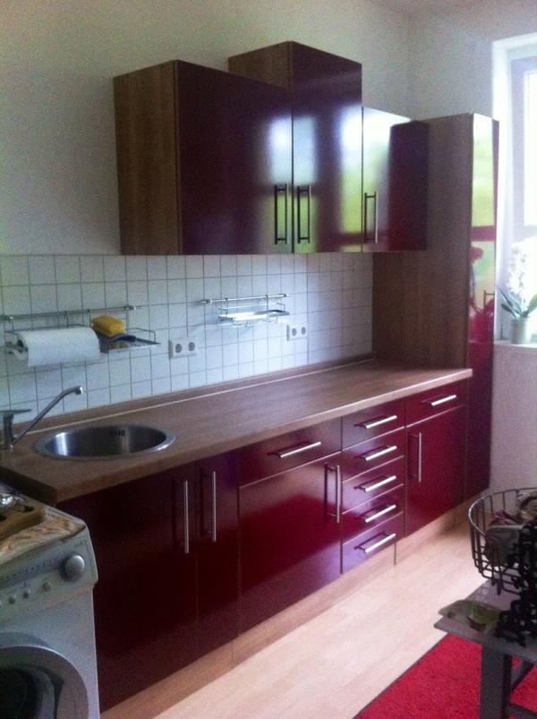 awesome k 252 chenschrank rot hochglanz photos home design. Black Bedroom Furniture Sets. Home Design Ideas