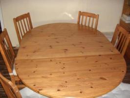 Runder Tisch von Ikea mit Einlegeboden in Rüsselsheim ...