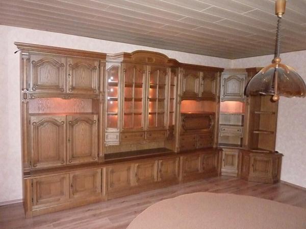 Wohnzimmerschrank Eiche rustikal in Wasbttel  Wohnzimmerschrnke Anbauwnde kaufen und