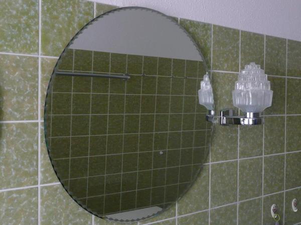 Spiegel Rund 60 Cm woood lauren l spiegel rund aus metall