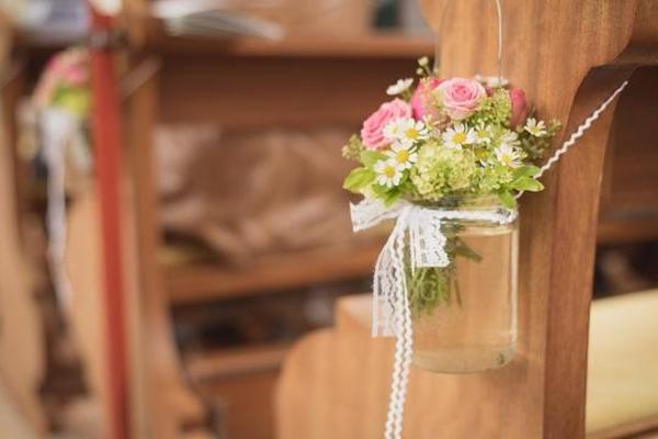 Dekoration im Vintage Stil fr Hochzeit Taufe Geburtstag