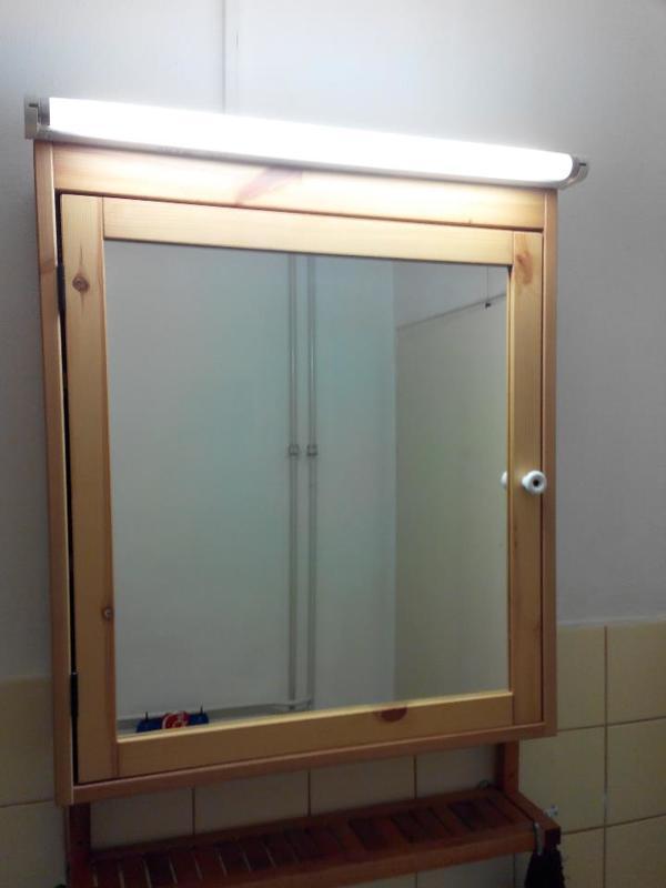 Badezimmer Spiegelschrank Mit Beleuchtung 100 Cm | Ikea ...