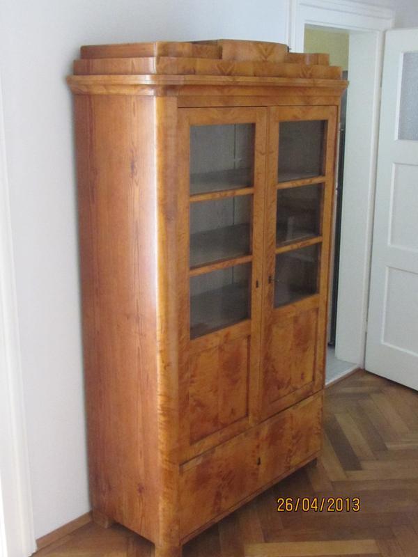 biedermeier sofa zu verkaufen sets cheap malaysia biedermeier-bÜcherschrank/vitrine in münchen - stilmöbel ...