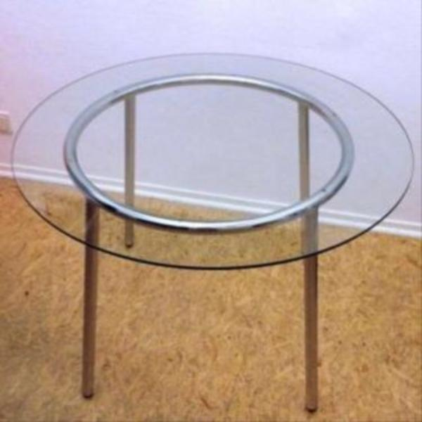 glastisch rund good couchtisch duanaiii glastische rund. Black Bedroom Furniture Sets. Home Design Ideas