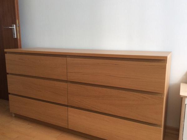 Ikea Malm Kommode Eiche 2021