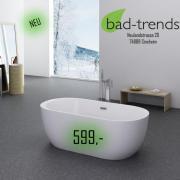 Badewanne Freistehend gebraucht kaufen! Nur 4 St. bis