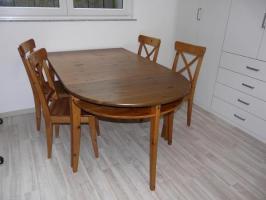 Elegantes Ikea Esstisch Und 4 Stühle Bild – Bilder und ...
