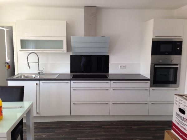 Küche Ikea Hochglanz Weiß – Home Sweet Home
