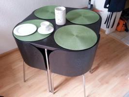 Ikea Fusion Esstisch inkl. 4 Stühlen wie neu in Bayreuth ...