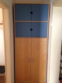 Ikea Schrank Zubehr: PAX IKEA Kleiderschrank mit Vorhang ...