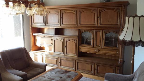 Wohnzimmerschrank Eiche rustikal in Regensburg  Wohnzimmerschrnke Anbauwnde kaufen und