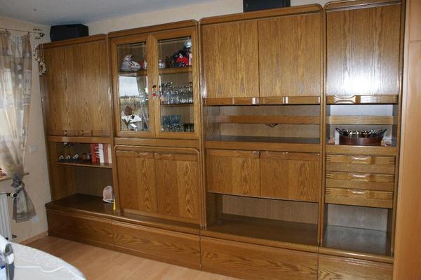 Wohnzimmerschrank Eiche rustikal in Heimsheim  Wohnzimmerschrnke Anbauwnde kaufen und