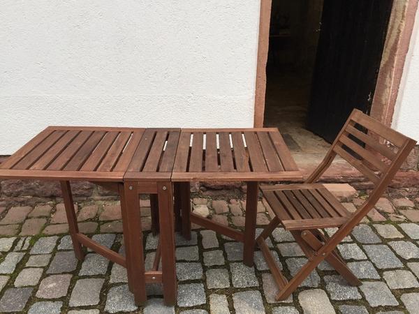 Gartentisch Und 1 Stuhl Modell ÄPPLARÖ In Neckargemünd IKEA