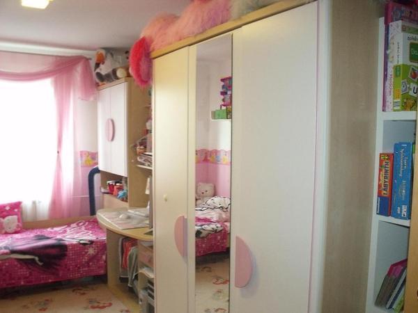 Haushalt Moebel Kinder Jugendzimmer Ca Schoenes Gebrauchtes Maedchen Jugend Zimmer L