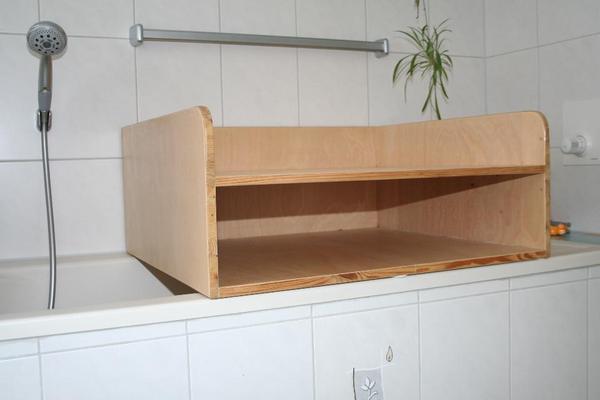 Wickeltisch Aufsatz fr Badewanne 84*75cm in Bad Rappenau