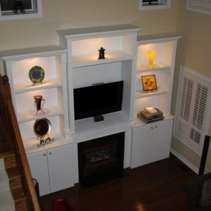 Bildam - Built-in Shelving and Entertainment Unit