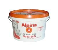 ALPINA FassadenClean Auenfarbe Wei Matt 5 L ...