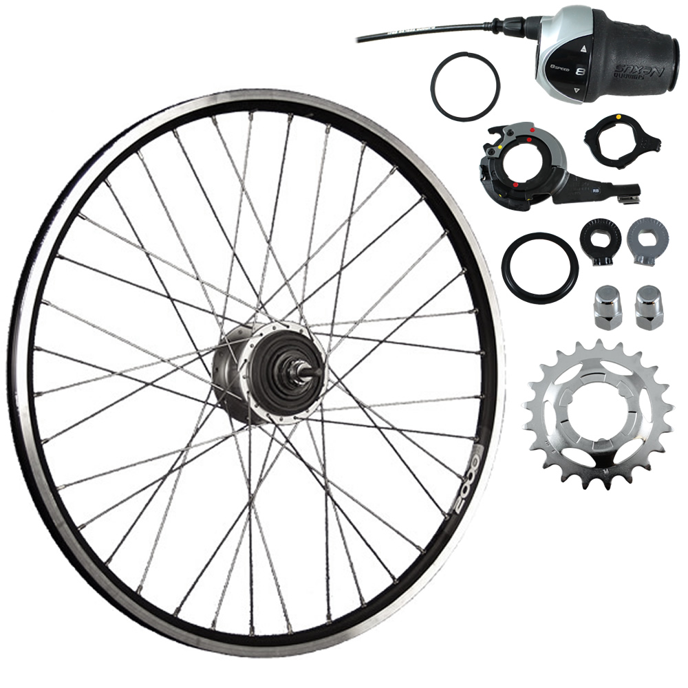 26-inch rear bike wheel ZAC2000 with Shimano Nexus Inter-8