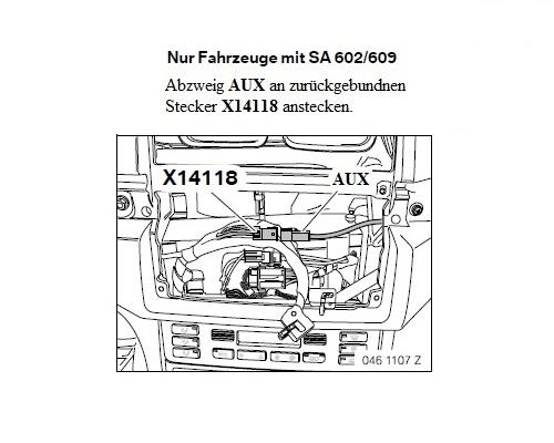 AUX Line In Adapter für Radio Navi BMW BM54 BM 54 / MP3