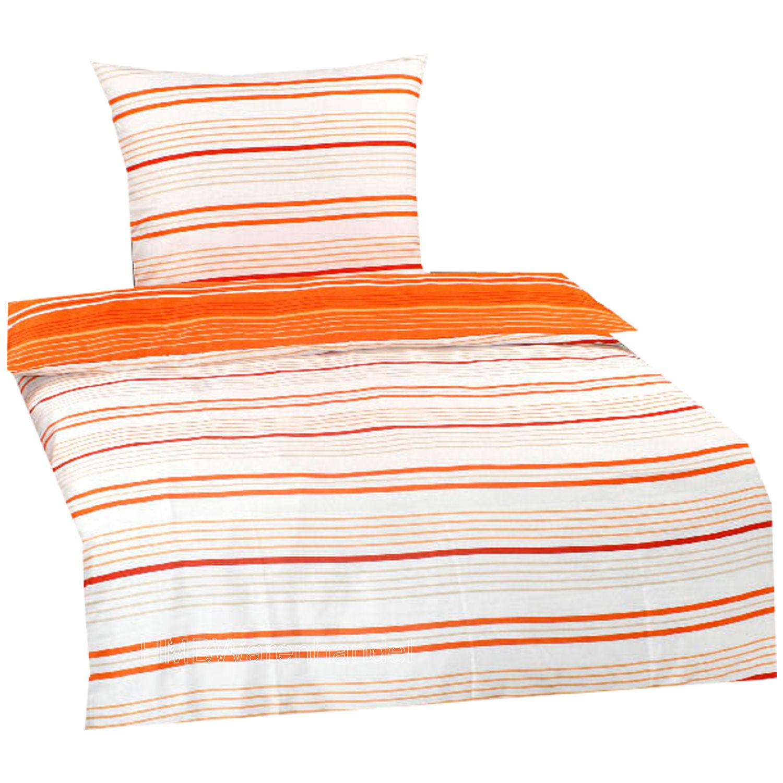 Bettwäsche 155x220 Orange Satin Mehr Als 10000 Angebote Fotos
