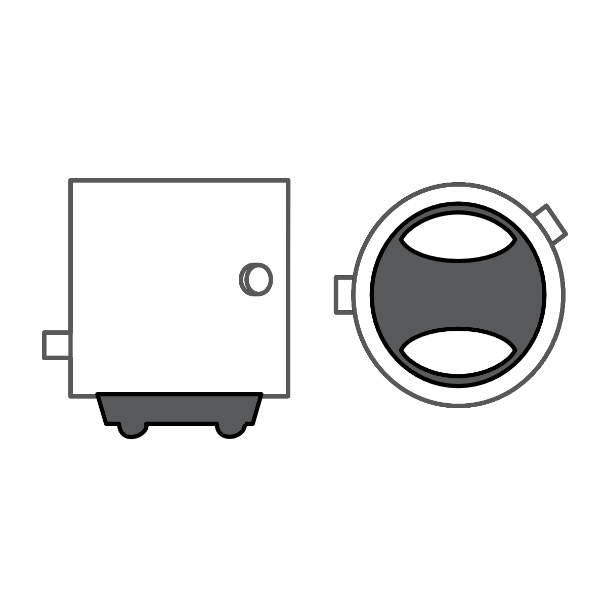 10x Brehma P21 4w 12v 21 4w Brake Light Stoplicht Lamp