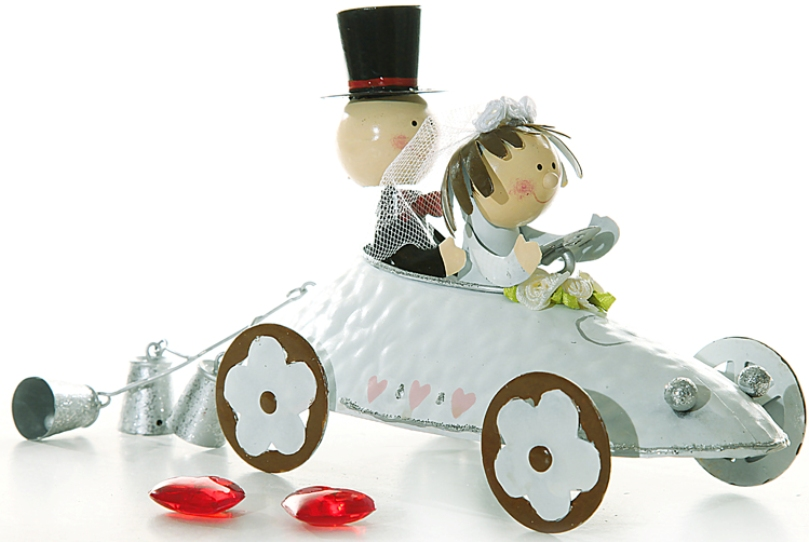 Brautpaar im Auto aus Metall Dekoration Geschenk HOCHZEIT bleibende Erinnerung  eBay
