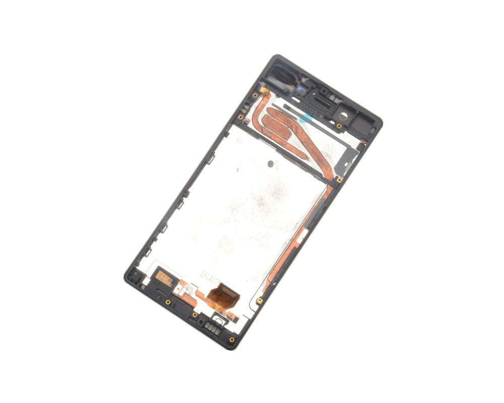 Sony Xperia X F5121 Display Touchscreen mit Rahmen gold