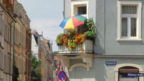 So bunt ist die Dresdner Neustadt.