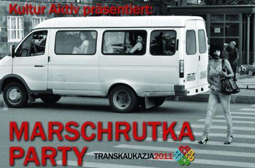 Marschrutka-Party startet vorm U-Boot