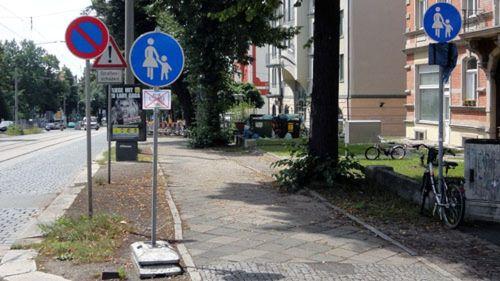 Frei für Radfahrer, oder besser doch nicht?