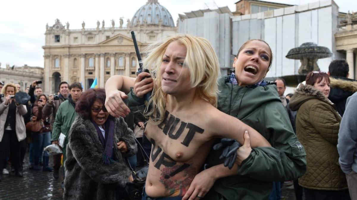 Image result for femen nun