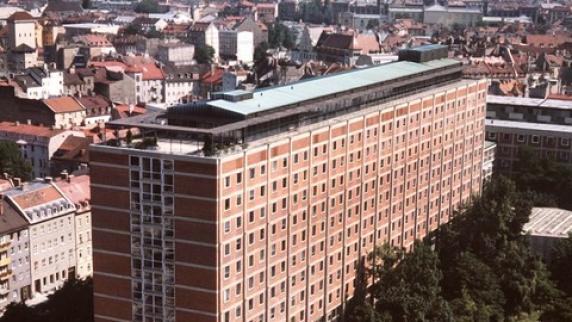 Das Deutsche Patentamt in München.