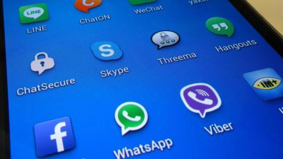 Smartphone Kurznachrichtendienst