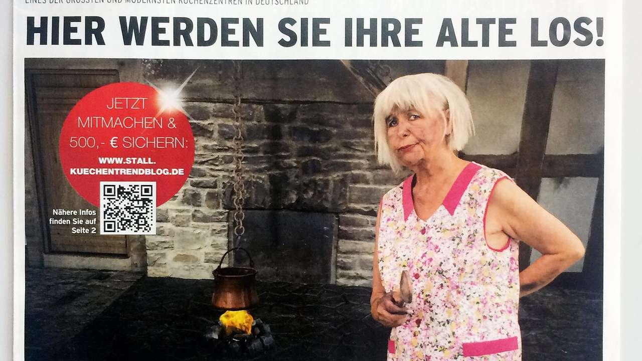 KchenWerbung war zu frauenfeindlich  Ruhrgebiet  Bildde
