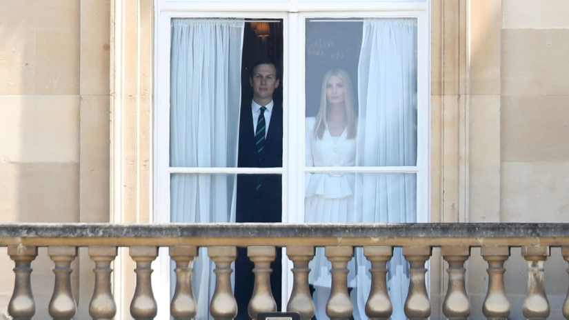 Just bought a piece of building land for 30 million dollars in Miami: Ivanka Trump and her husband Jared Kushner - here in June 2019 during a visit by the ex-president to Buckingham Palace