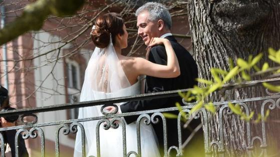 OB Feldmann heiratet seine Zbeyde Seit 1742 Uhr hat Frankfurt eine First Lady  Frankfurt