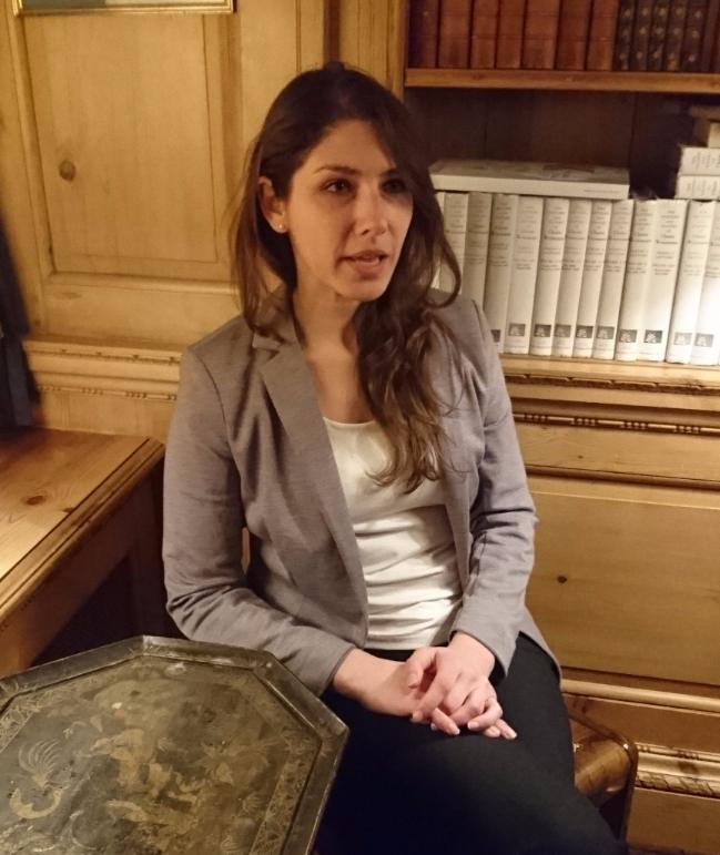 "Valerie Szybala, leitende Direktorin bei ""The Syria Institute"" in der US-Hauptstadt Washington D.C., im BILD-Interview"