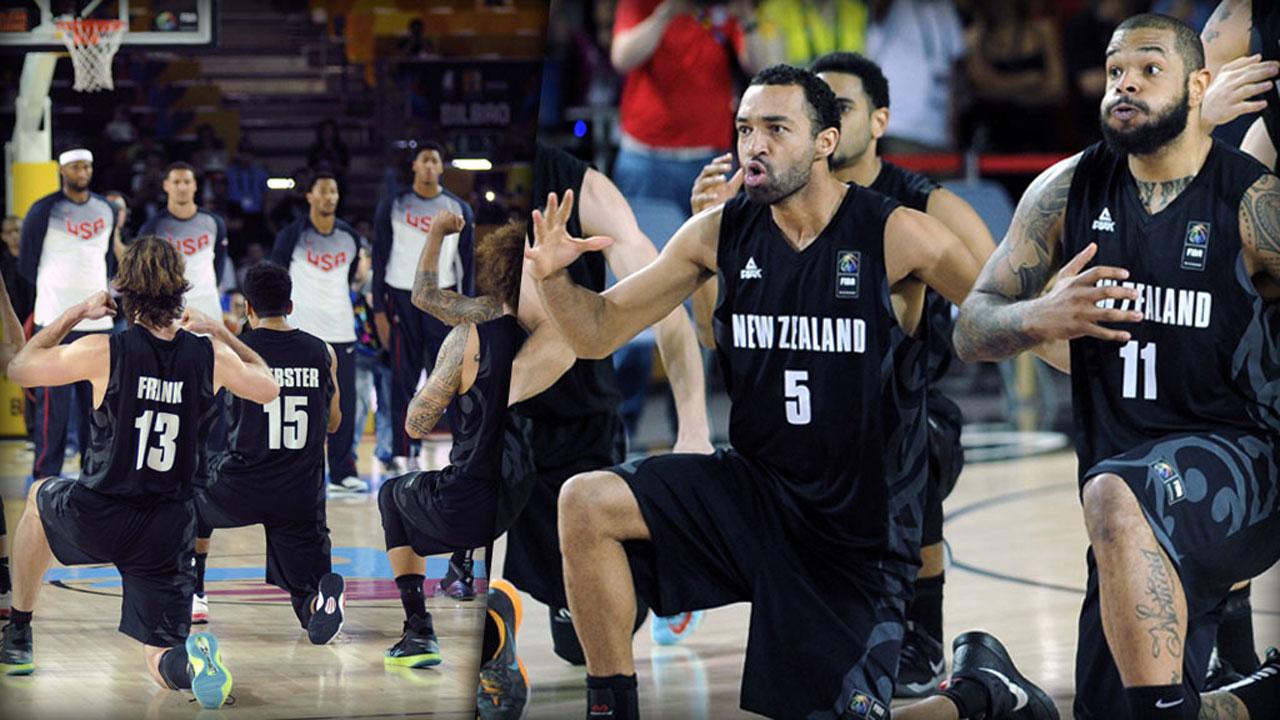 BasketballWM im Video Wilder Kriegstanz verblfft US