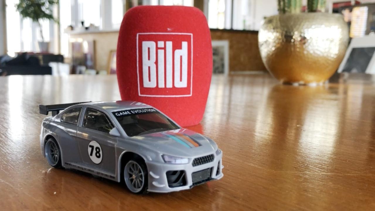 DriftRacer aus Das Ding des Jahres  Autorennen auf dem Kchentisch  AutoNews  Bildde