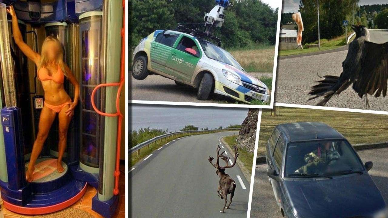 Google Street View Die 100 verrücktesten Bilder aus aller