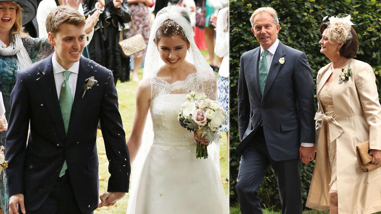 Sohn von Tony Blair Hochzeit in 7MioVilla  Politik Ausland  Bildde