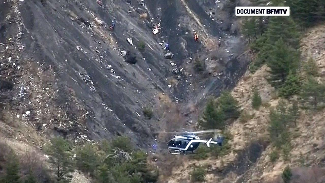 Imágenes desde el lugar del accidente