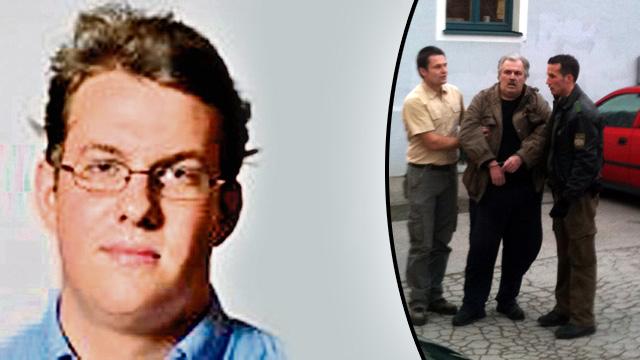 Bild: rechts der bodenständige Mann, der den Juristen niederstreckte
