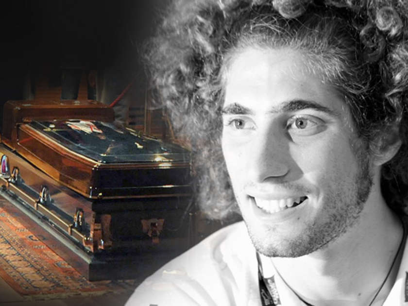 Marco Simoncelli  24 Toter MotorradStar wird heute beerdigt  Bildde