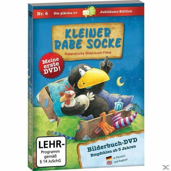 Kleiner Rabe Socke - Rabenstarke Bilderbuch-Filme auf DVD