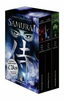 Samurai Band 1-3 von Chris Bradford als Taschenbuch - Portofrei bei bücher.de