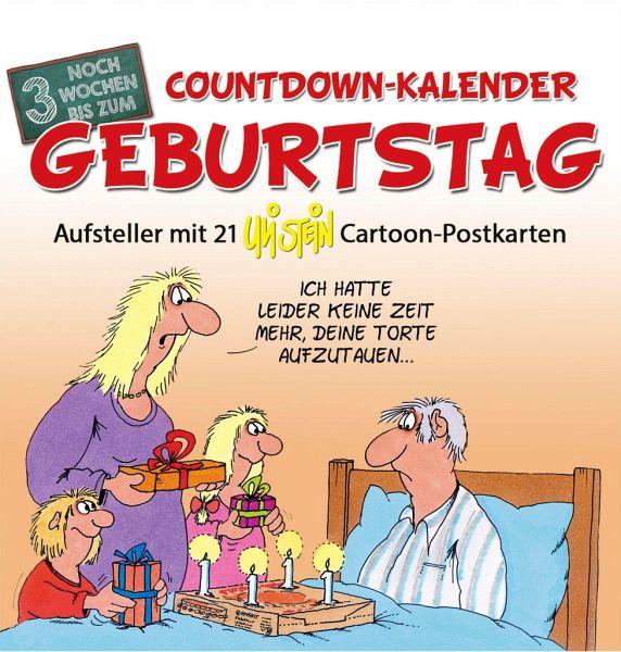 CountdownKalender Geburtstag von Uli Stein  Kalender