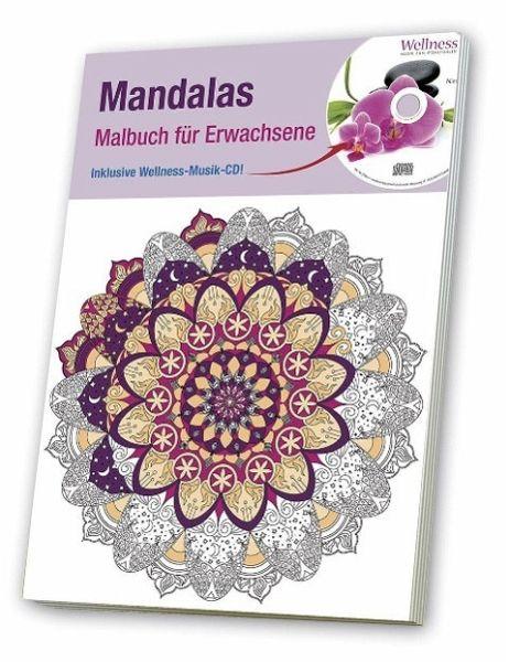 Malbuch für Erwachsene 3 Mandalas portofrei bei bücher