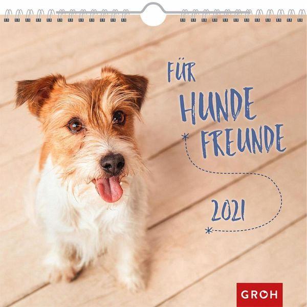 Für Hundefreunde 2021 - Kalender portofrei bestellen